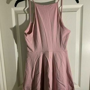 Forever 21 Dresses - Pink cami fit & flare mini dress